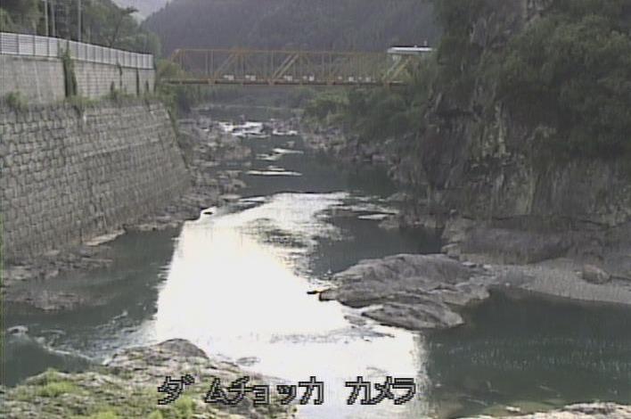 大滝ダム直下ライブカメラ(奈良県川上村大滝)