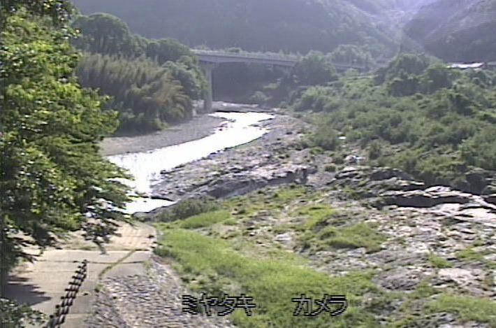 吉野川宮滝ライブカメラ(奈良県吉野町宮滝)