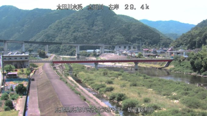 太田川飯室観測所第2ライブカメラ(広島県広島市安佐北区)