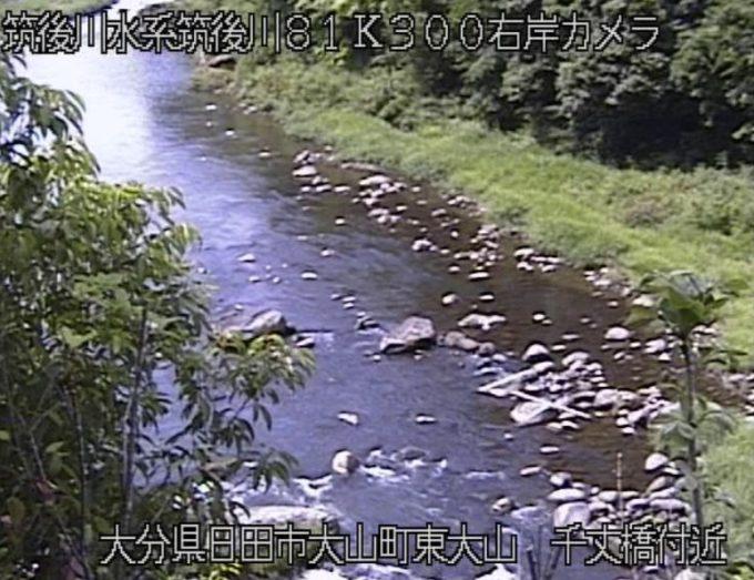 大山川千丈ライブカメラ(大分県日田市大山町東大山)