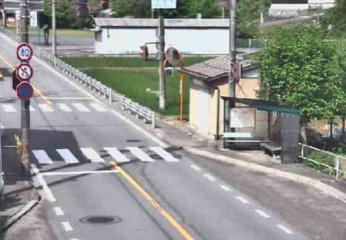 国道256号和良庁舎前ライブカメラ(岐阜県郡上市和良町沢)