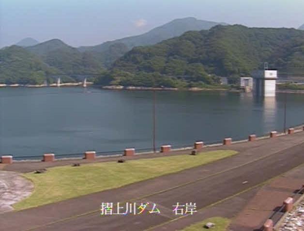 摺上川ダム右岸ライブカメラ(福島県福島市飯坂町茂庭)