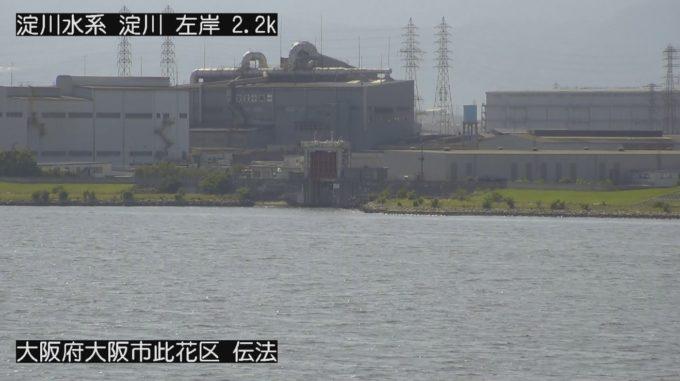 淀川伝法ライブカメラ(大阪府大阪市此花区)
