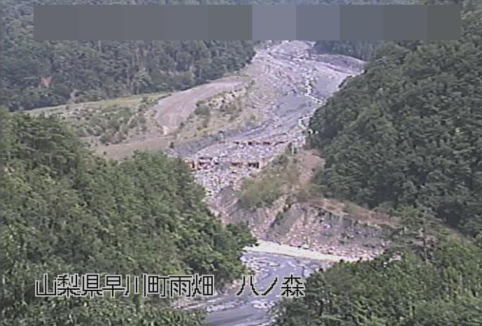 雨畑川八の森トンネルライブカメラ(山梨県早川町雨畑)