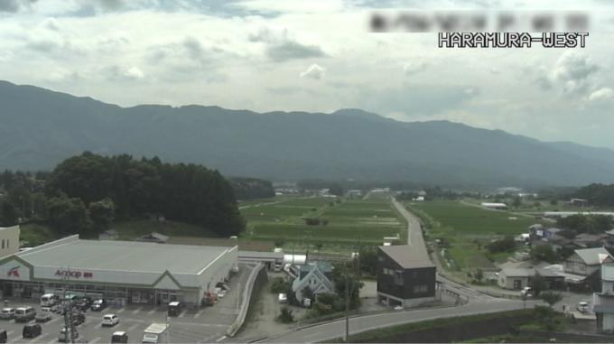 原村役場西方向ライブカメラ(長野県原村払沢)