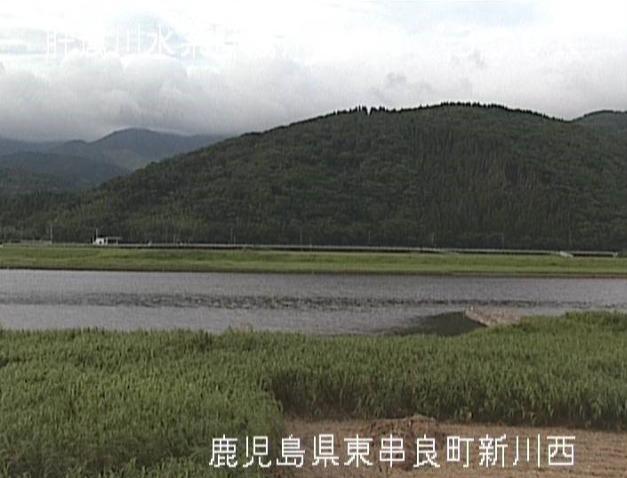 肝属川新川西ライブカメラ(鹿児島県東串良町新川西)