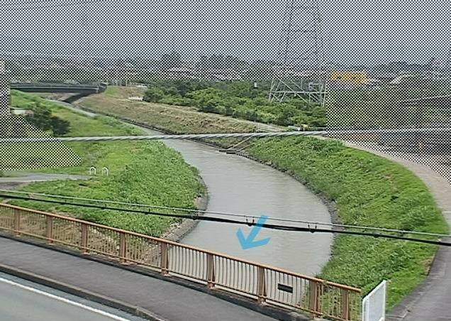 馬込川矢矧橋ライブカメラ(静岡県浜松市浜北区)