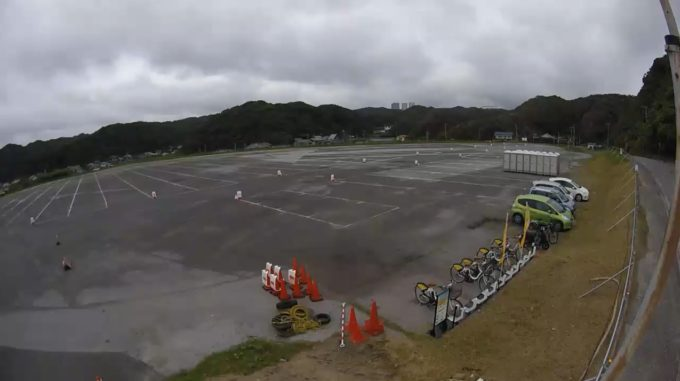 守谷海水浴場駐車場第1ライブカメラ(千葉県勝浦市守谷)