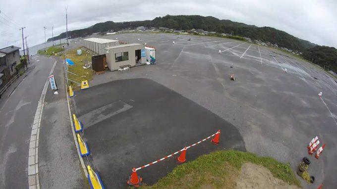 守谷海水浴場駐車場第2ライブカメラ(千葉県勝浦市守谷)