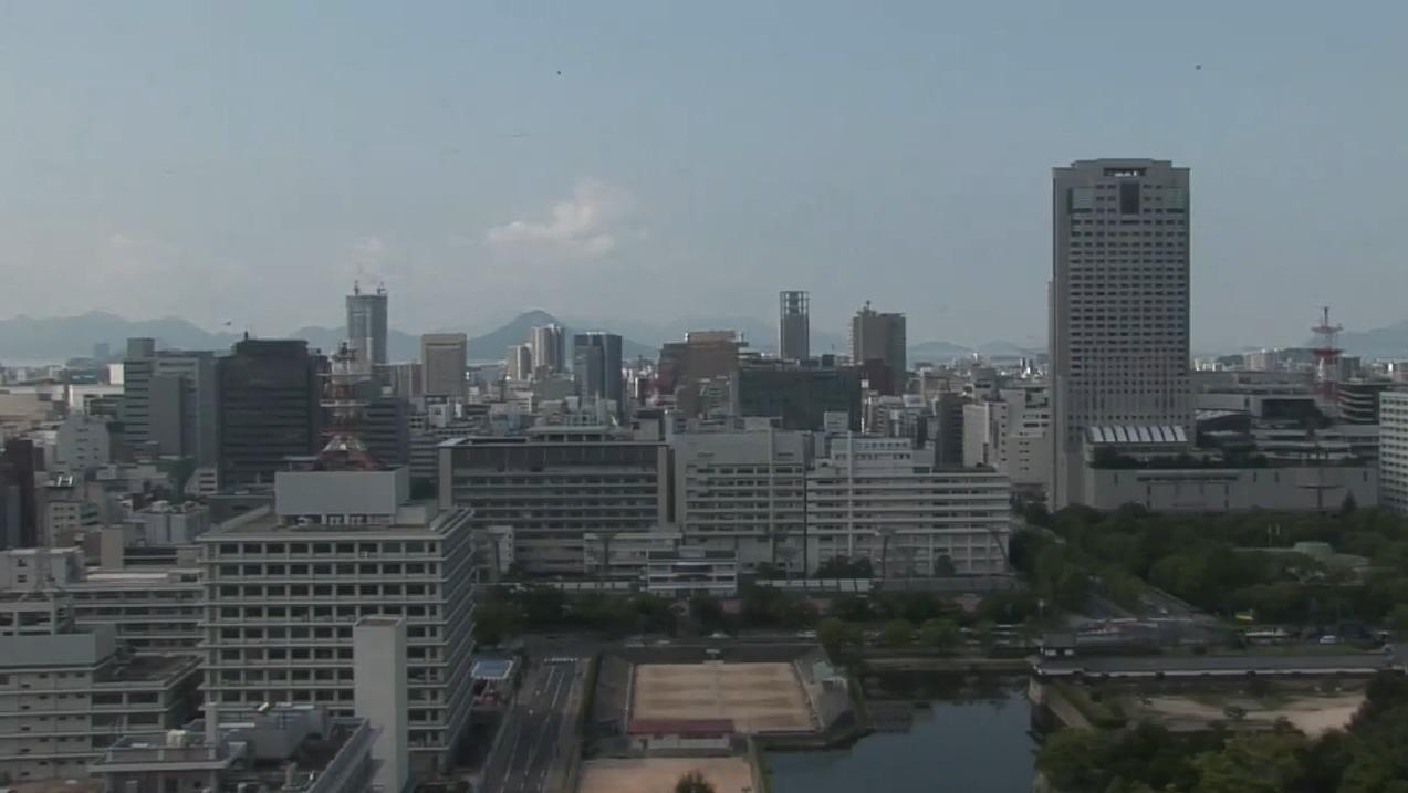 RCCテレビ常時配信ライブカメラ(広島県広島市中区)