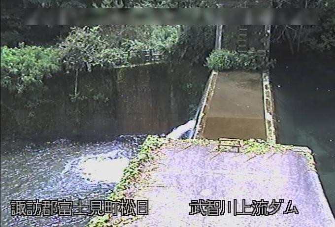 武智川上流砂防堰堤ライブカメラ(長野県富士見町松目)