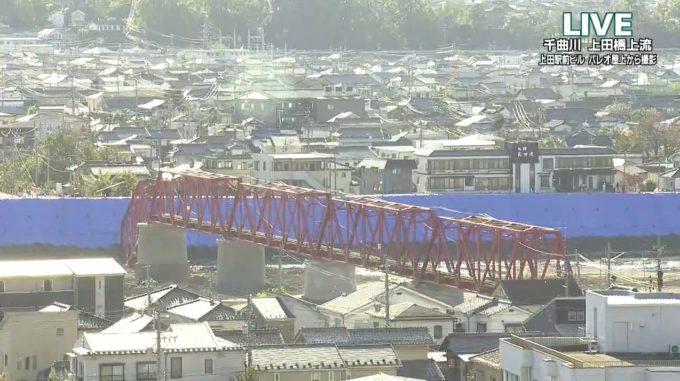 UCV千曲川ライブカメラ(長野県上田市天神)