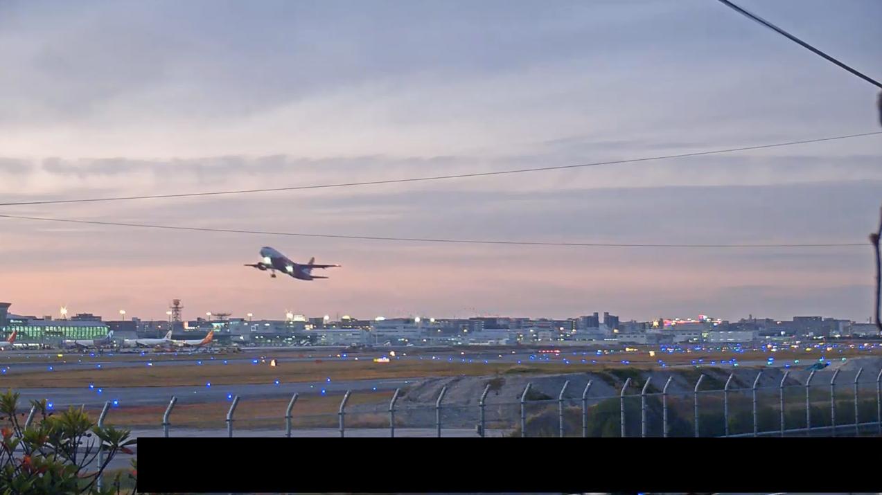 福岡空港ライブカメラ(福岡県福岡市博多区)
