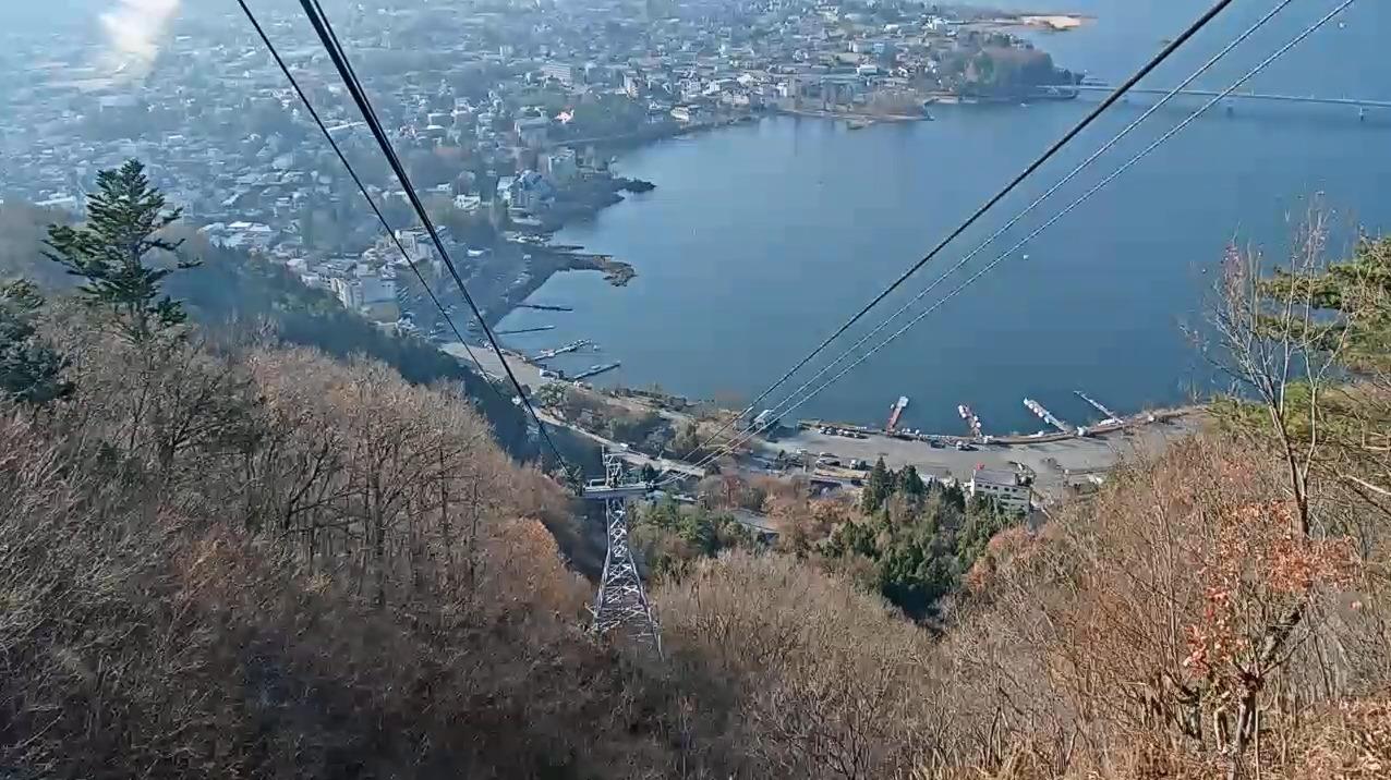 富士山パノラマロープウェイライブカメラ(山梨県富士河口湖町浅川)