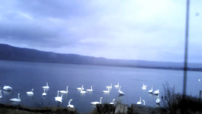 屈斜路湖ホテルライブカメラ(北海道弟子屈町川湯)