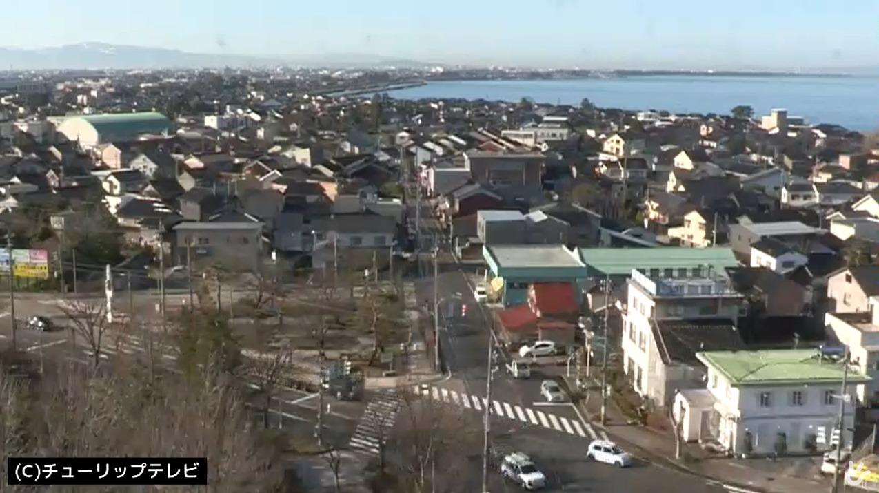 チューリップテレビ滑川市内ライブカメラ