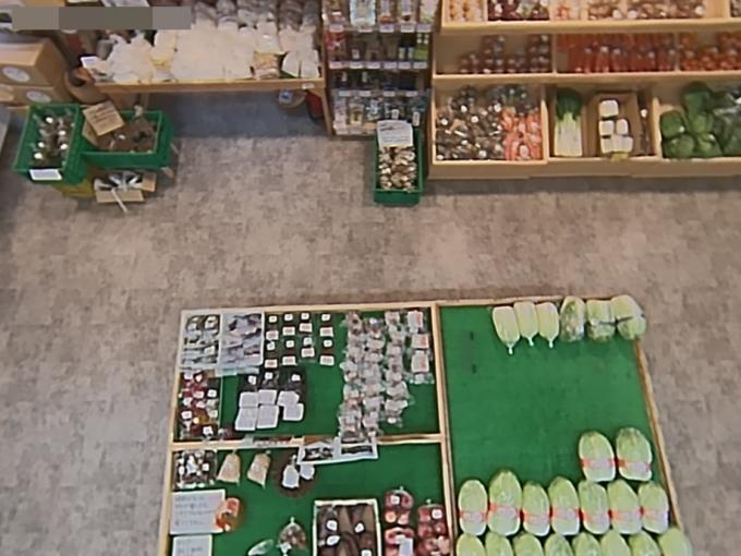 道の駅いくさかの郷農産物直売所ライブカメラ(長野県生坂村)