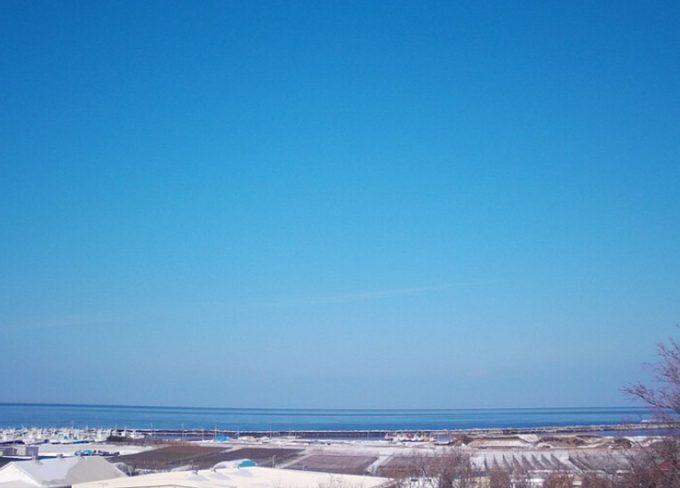 NHK斜里町流氷ライブカメラ(北海道斜里町文光町)