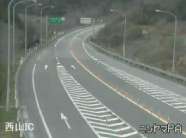 のと里山海道西山パーキングエリアライブカメラ(石川県志賀町西山)