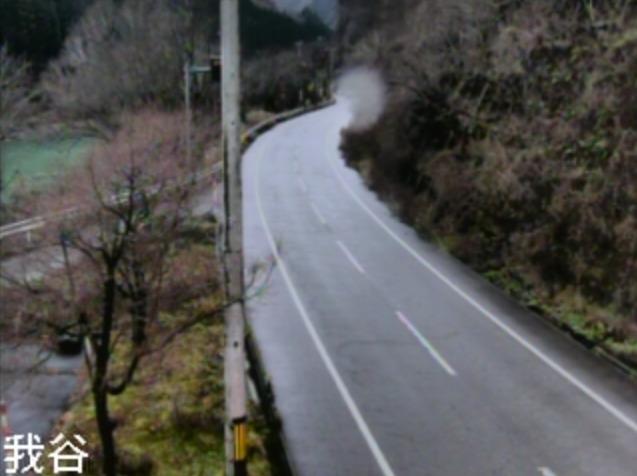 国道364号山中温泉我谷町ライブカメラ(石川県加賀市山中温泉我谷町)