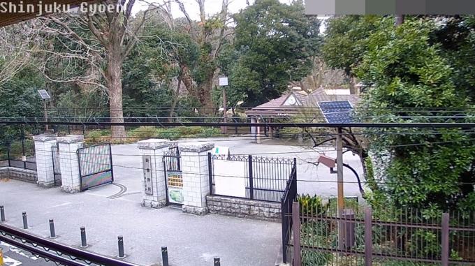新宿御苑千駄ヶ谷門ライブカメラ(東京都渋谷区千駄ケ谷)