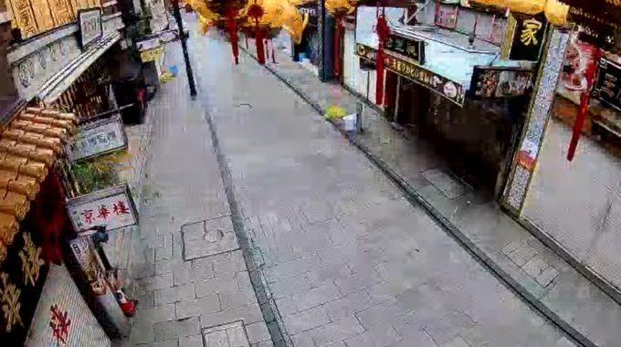 中華街大通り横浜博覧館前ライブカメラ(神奈川県横浜市中区)