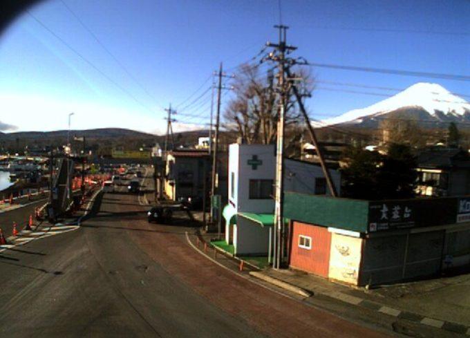 富士五湖TV山中湖三叉路ライブカメラ(山梨県山中湖村山中)