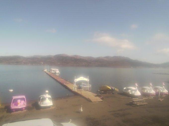 富士五湖TV山中湖湖畔ライブカメラ(山梨県山中湖村平野)