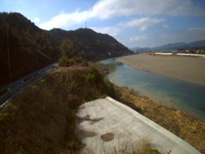 日高川和佐下流側ライブカメラ(和歌山県日高川町和佐)