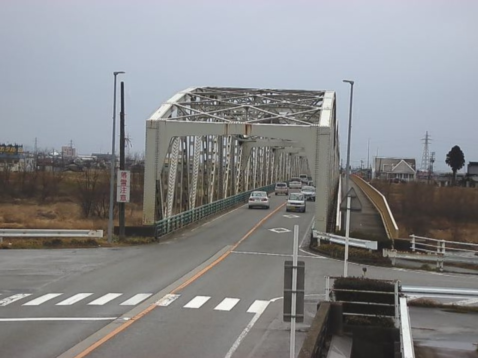国道415号水橋市田袋ライブカメラ(富山県富山市水橋市田袋)