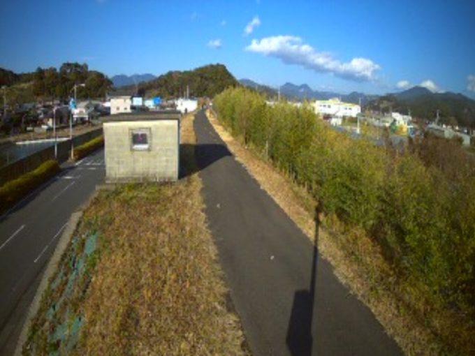 富田川岩田上流側ライブカメラ(和歌山県上富田町岩田)
