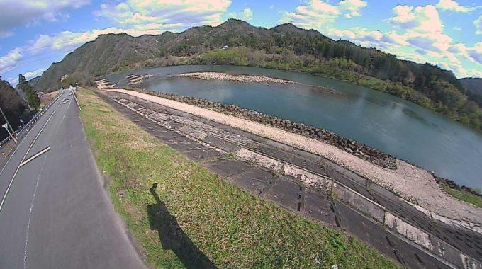 江の川46.4KP左岸ライブカメラ(島根県美郷町簗瀬)