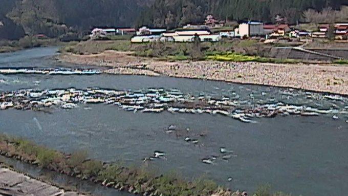 江の川75.8KP左岸ライブカメラ(島根県美郷町上野)