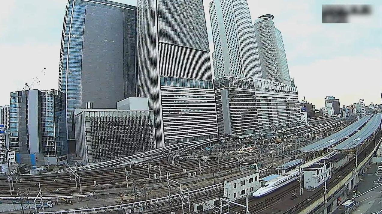 名古屋駅鉄道ライブカメラ(愛知県名古屋市中村区)