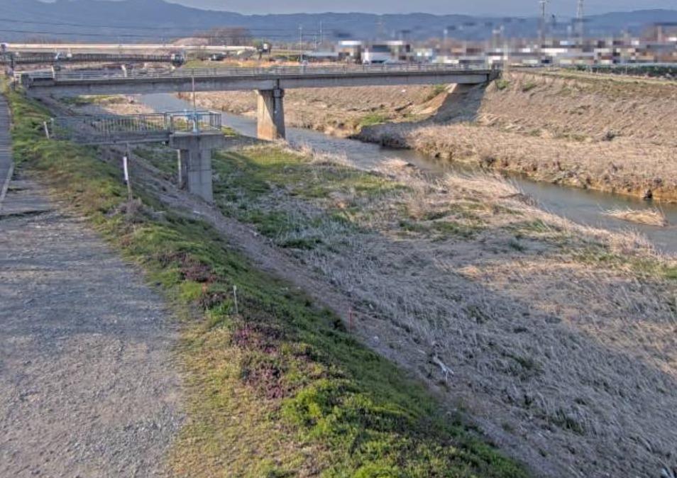 百々川新橋左岸ライブカメラ(長野県須坂市高梨)