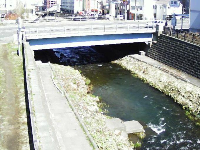 勝納川高砂橋ライブカメラ(北海道小樽市新富町)