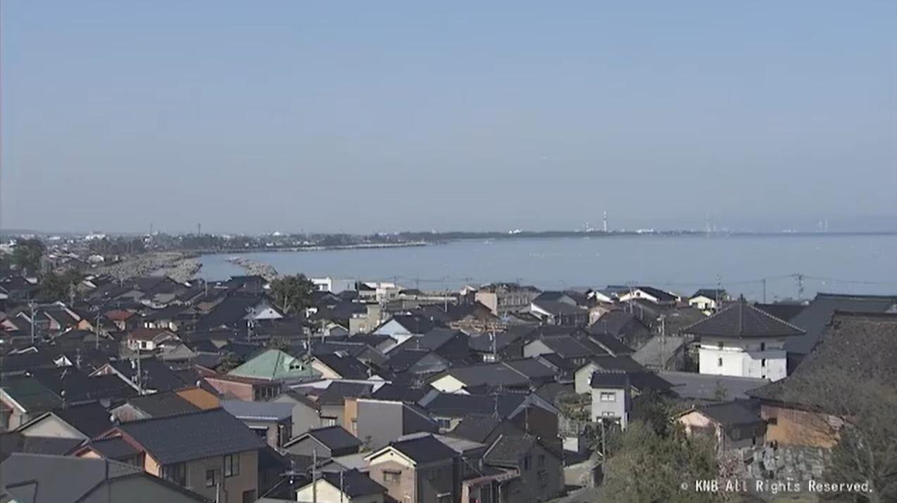 KNB富山ライブカメラ(富山県富山市牛島町)