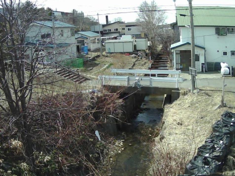 クサンル川1.0KPライブカメラ(北海道稚内市緑)