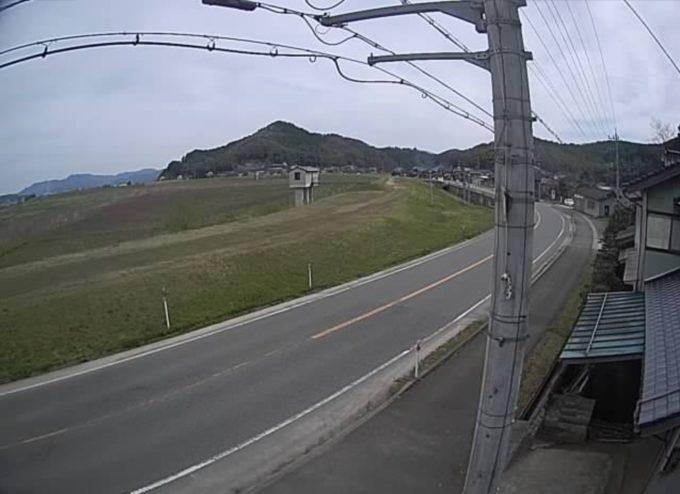 円山川中郷取水場ライブカメラ(兵庫県豊岡市中郷)