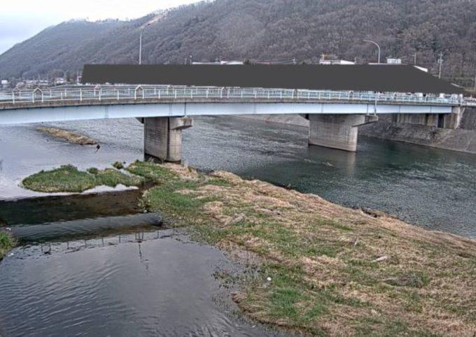 奈良井川新橋水位観測局ライブカメラ(長野県松本市島内)