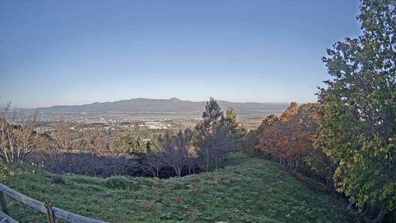 奈井江町にわ山森林自然公園ライブカメラ(北海道奈井江町東奈井江)