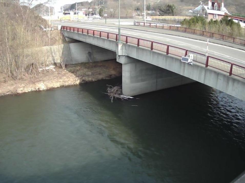 渚滑川15.8KPライブカメラ(北海道滝上町旭町)