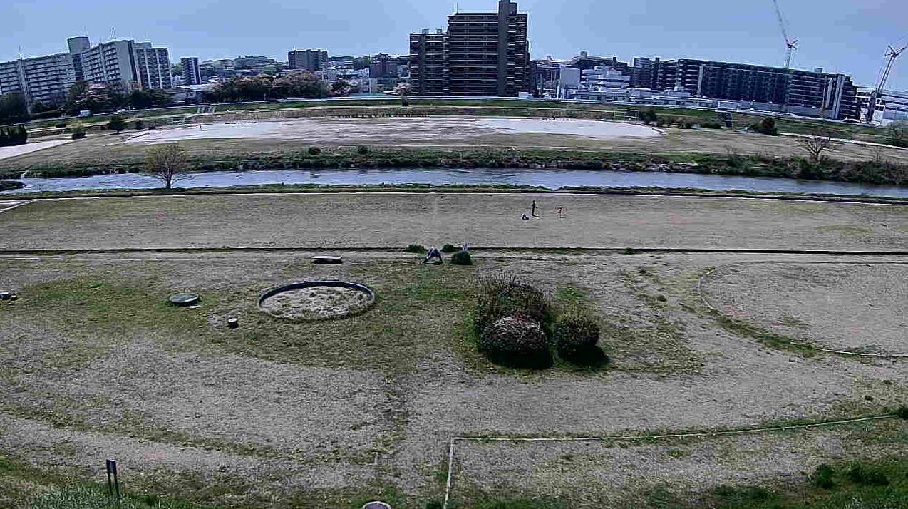矢田川長栄八反ライブカメラ(愛知県名古屋市守山区)