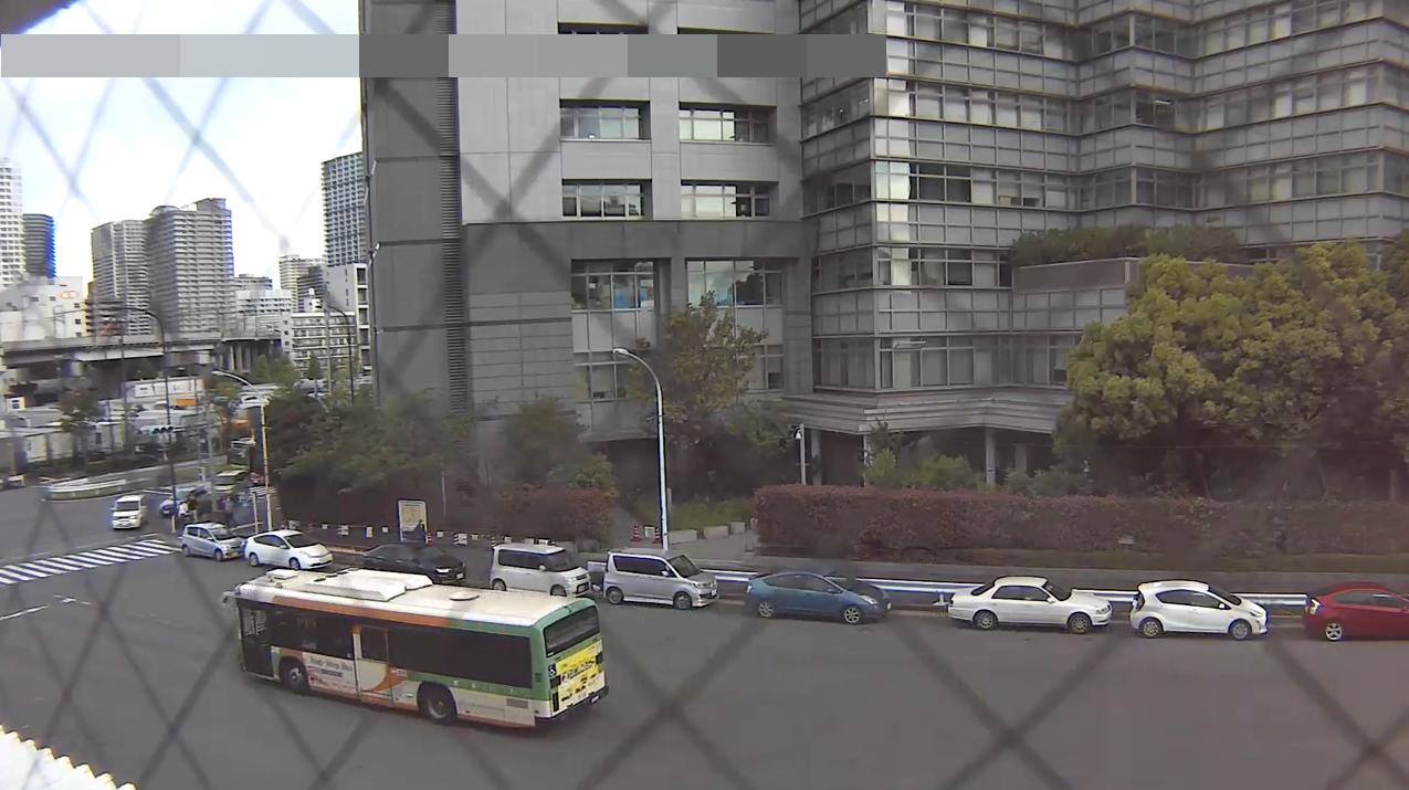 DPT東京出入国在留管理局前ライブカメラ(東京都港区港南)