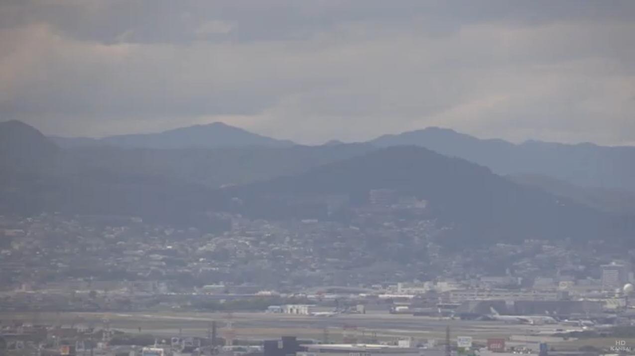 大阪国際空港第2ライブカメラ(兵庫県宝塚市)