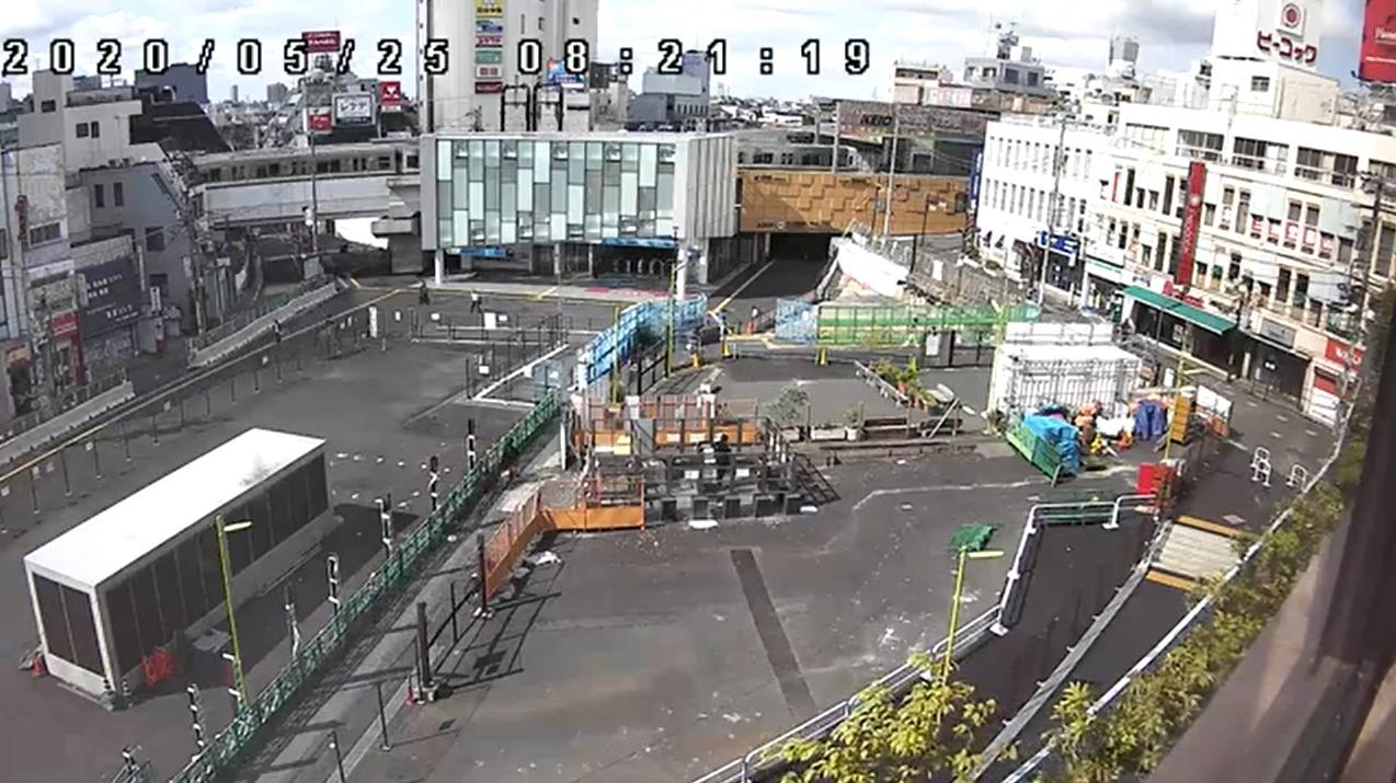 シモキタフロント下北沢駅ライブカメラ(東京都世田谷区北沢)