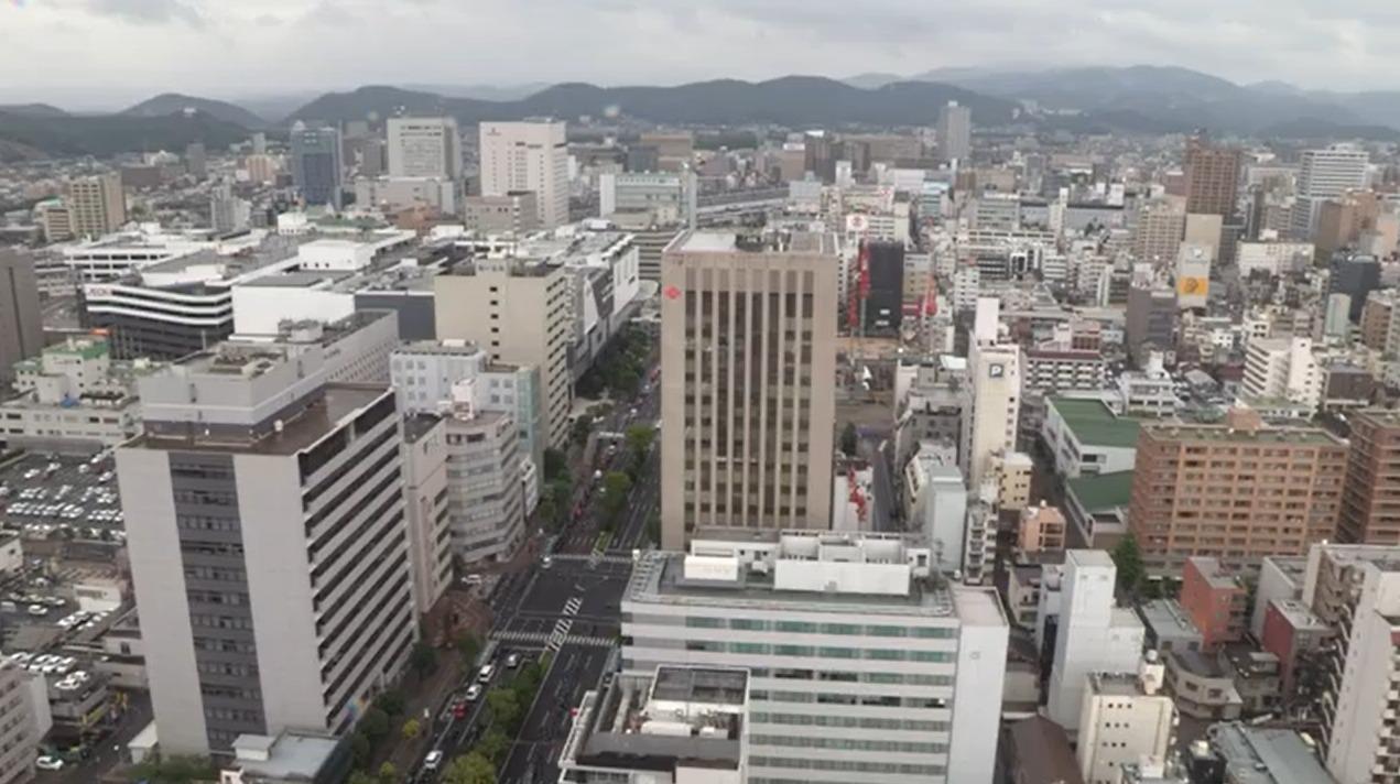 TSCテレビせとうち岡山市内ライブカメラ(岡山県岡山市北区)