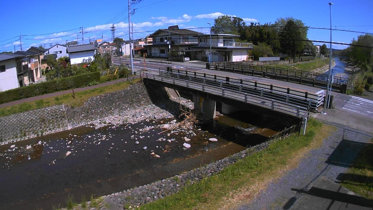 内川京町橋ライブカメラ(栃木県矢板市本町)