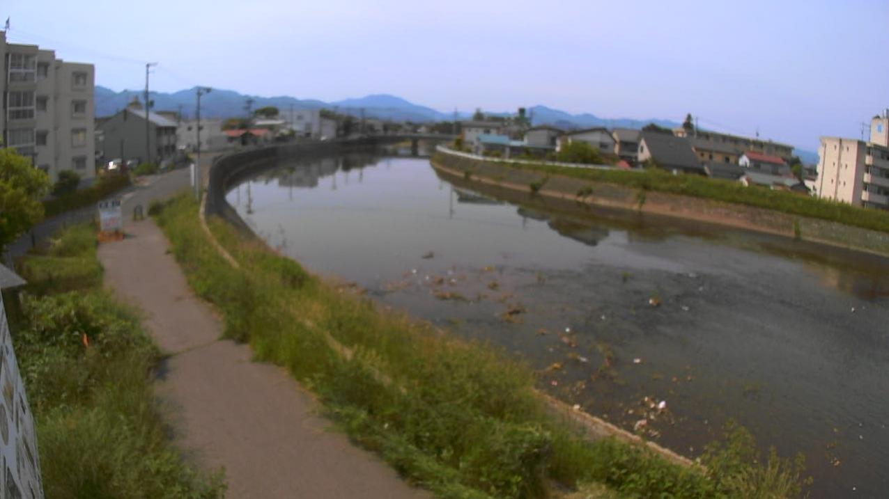 湯川放水路新湯川上流ライブカメラ(福島県会津若松市緑町)