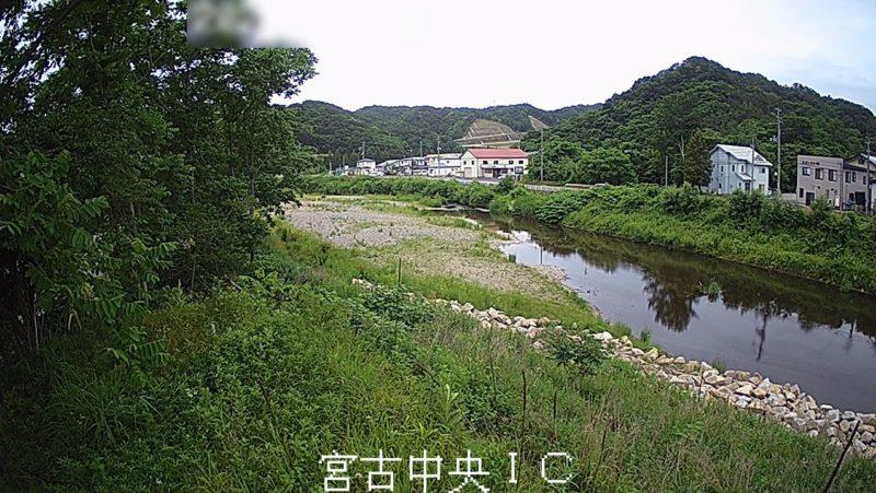 閉伊川宮古中央インターチェンジライブカメラ(岩手県宮古市千徳)